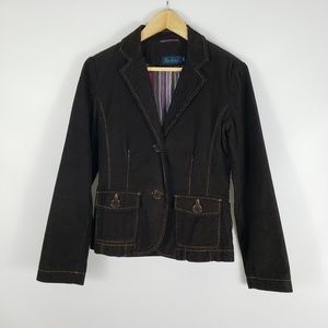BODEN Dark Brown Corduroy Jacket